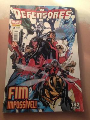 Os Defensores N°2 Ed. Panini Marvel Julho/13 R$16