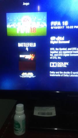Playstation 3 Bloqueado com 10 jogos em ótimo estado