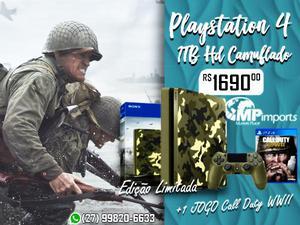 Sim, A Marketplace tem Playstation 4 1TB Hd Camuflado