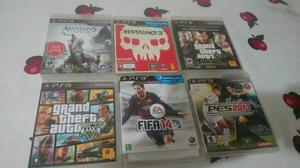 Vendo jogos de Playstation 3 ou troco por celular