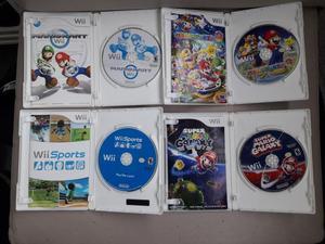 Jogos Originais para Wii ? 8 jogos por R$
