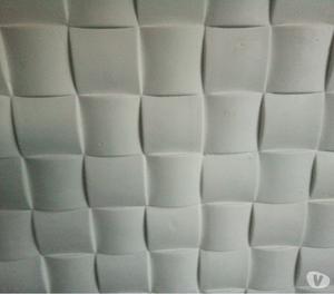 Placas Decorativas 3 D em Gesso,para paredes internas