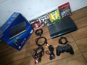 Torro PS3 Super Slim 500 GB Impecável