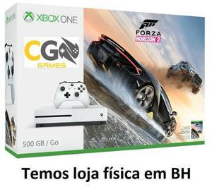 Xbox One S Novo Lacrado na Caixa com Garantia - Cartão Até