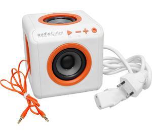Caixa de Som Portátil Bluetooth ELG Audiocube Branca 30W