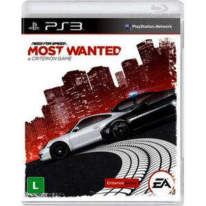 Need for Speed? Most Wanted - Jogo completo - Midia Digital