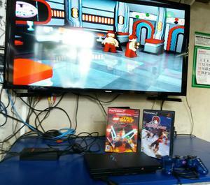 PlayStation 2 slim original bloqueado