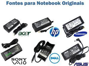 Fonte Carregador para Notebook diversas marcas