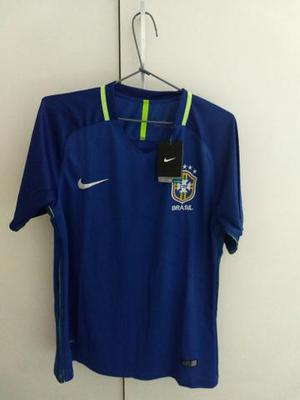 Camisa Seleção Brasileira azul Tamanho M