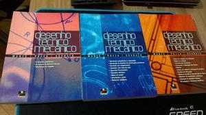 Coleção Livros Desenho Tecnico Mecanico Vol. 1, 2 e 3