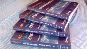 Coleção de livro de Enfermagem BRUNNER + AGRADOS