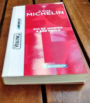 Livro O Guia Michelin  - Rio de Janeiro e São Paulo