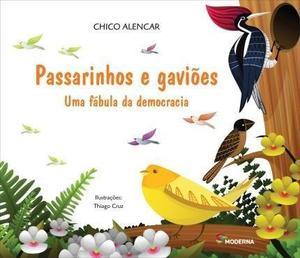 Livro Passarinho e Gaviões
