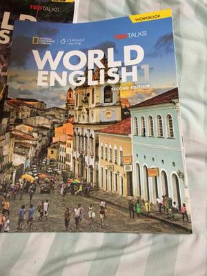 Livro Word English 1 completo e wordbook