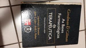 Livro de farmacologia medicina/ área de saúde