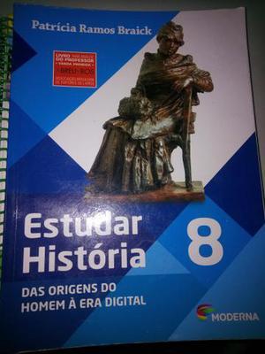 Livro de história 8°ano