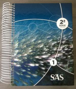 Livros Didáticos SAS 2º ano Ensino Médio