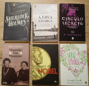 Livros variados (novos)