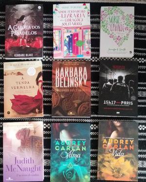 Livros variados(novos)