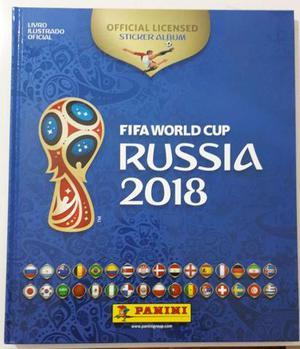 Pacote Álbum Capa Dura Copa do Mundo Rússia