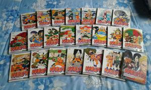 Pacote mangá Naruto Gold - 22 números