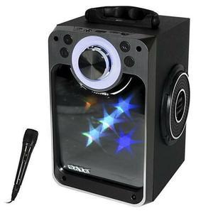 Caixa de som Satellite AS-372 USB/Bluetooth/Karaoke com