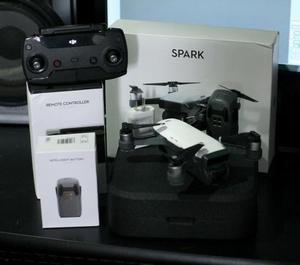 Drone Dji Spark - 2 baterias e controle na caixa
