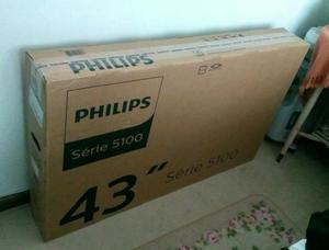 TV Smart 43 Philips Nova na Caixa Lacrada