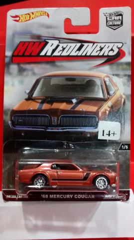 Hot Wheels car culture mercury cougar