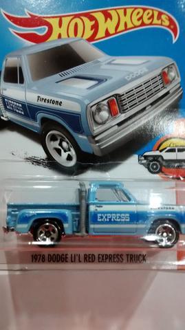 Hot Wheels  dodge li´l red express truck