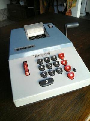Maquina de calcular antiga