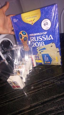 Álbum Copa do Mundo - Rússia