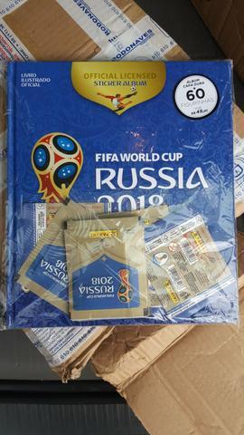 Álbum capa dura Copa da Rússia