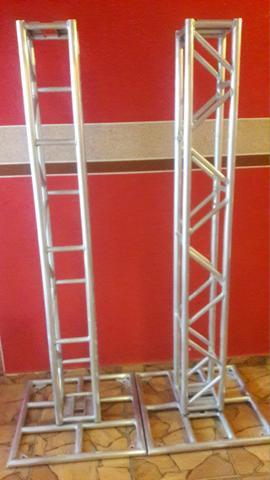Treliça para Dj Q25 2 torres 2mt