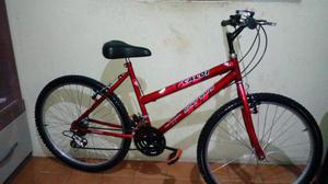 Bicicleta aro 26 Caloi Montana 18 marchas semi nova
