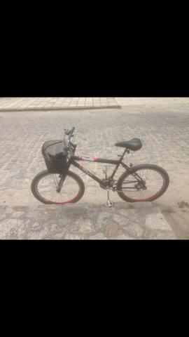 Bicicleta aro 26 seminova ótimo estado