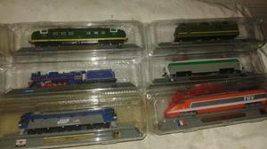 Trens de todo o mundo contendo 71 peças !!!
