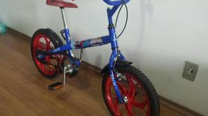 Bicicleta Caloi Spider Man - Aro 16 - Infantil - Em Aço