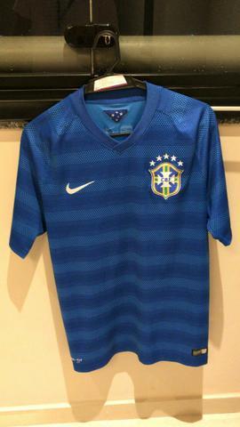 Camisa Seleção Brasileira azul Original tamanho M