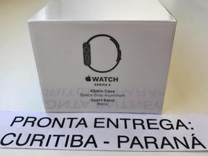 ? Apple Watch Série 3 42mm Cinza Espacial. Novo e lacrado.
