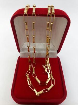 33982baaa1c Cordão corrente colar de ouro 18k puro maciço