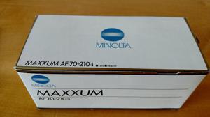 Lente Minolta Sony AF  mm F/4 Beercan Nova na Caixa