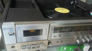 Toca discos sony 3 em 1