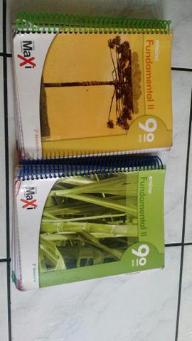 2 Livros Editora Moderna 9° ano