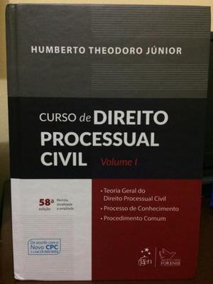 Curso de Processo Civil - Vol. 01 Humberto Theodoro - Ótimo