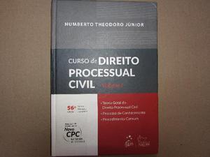 Livro Curso de Direito Processual Civil Vol. 1 - Humberto
