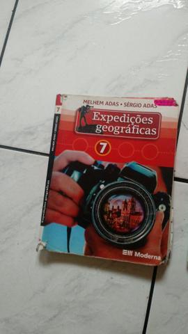 Livro Editora Moderna Geografia