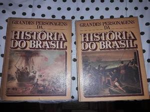 Livro Grandes Personagens da História do Brasil Vol 1 e 2