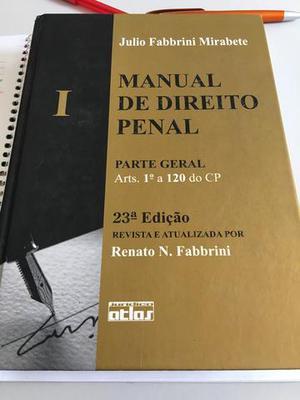Livro manual de direito penal