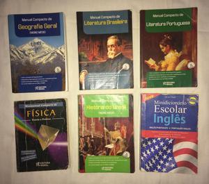 Livros compactos para vestibular e enem